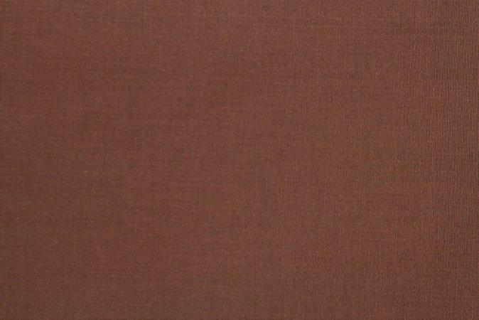 Tecido para Patchwork Liso Marrom (0,50m x 1,50m)