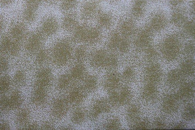 Tecido para Patchwork Textura Poeira Bege (0,50m x 1,50m)