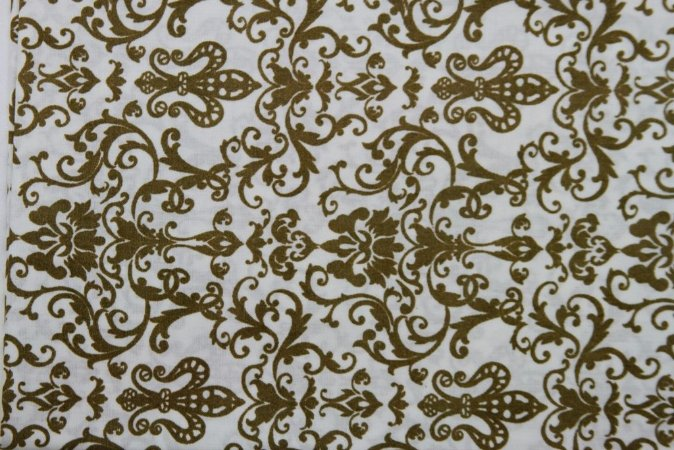 Tecido para Patchwork Arabesco Camurça (0,50m x 1,50m)