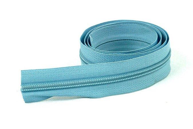 Zíper Grosso Azul Claro 3cm Coats