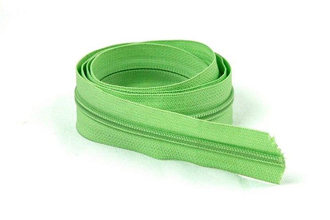Zíper Grosso Verde Claro 3cm Coats