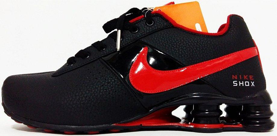 low priced 9a7f9 a9d09 nike shox deliver vermelho