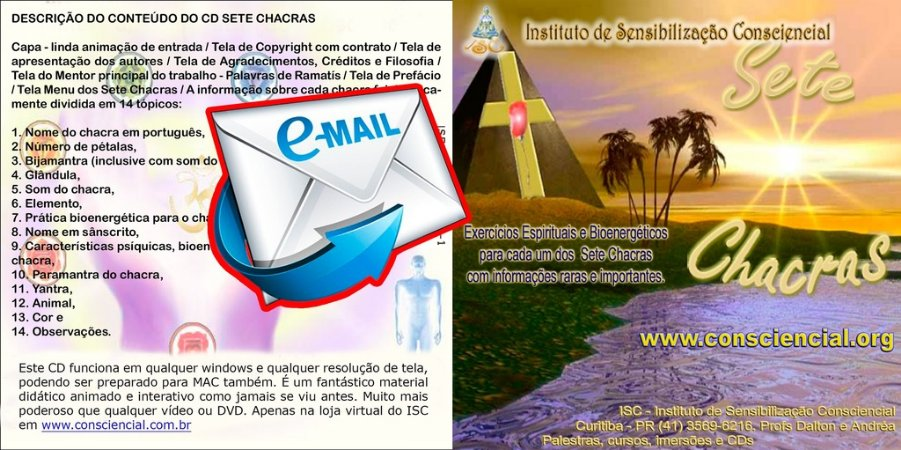 Guia de Práticas Bioenergéticas para os Sete Chacras por e-mail