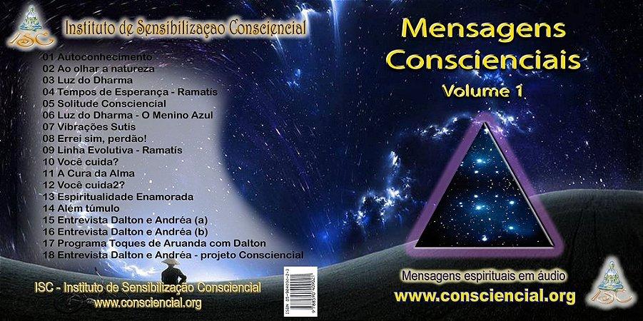 Áudio Mensagens Espirituais Conscienciais