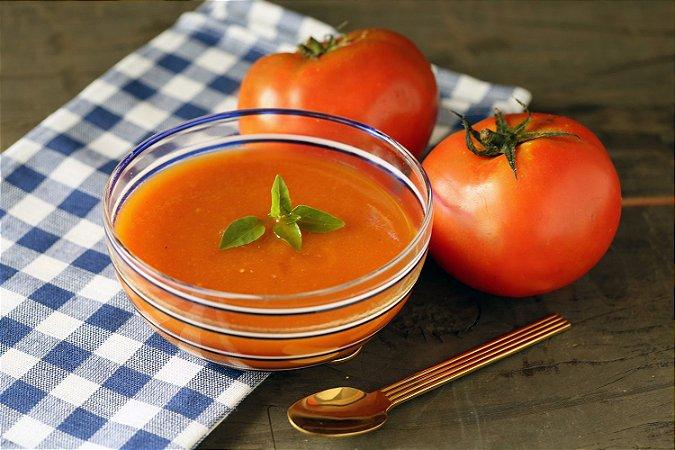 Creme de tomate com cenoura