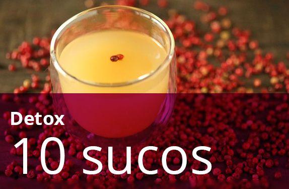 Kit 10 Sucos Variados (Detox)