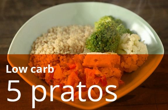 Kit 5 Pratos Low Carb