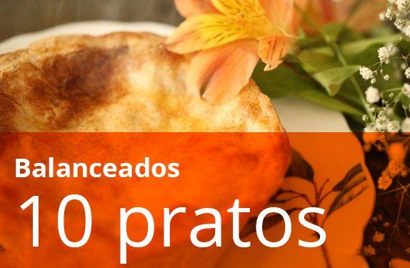 Kit 10 Pratos Balanceados