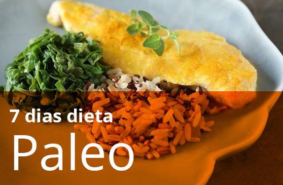 Dieta Paleo 7 Dias (sem carbo)