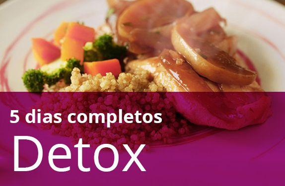 Kit Detox 5 Dias (Todas as refeições)