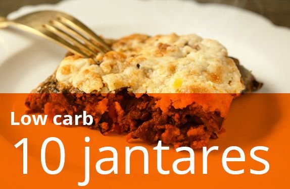 Kit 10 jantares low carb