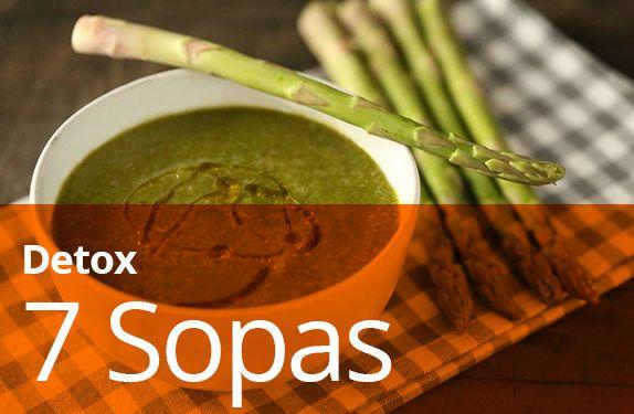 7 Sopas Cremosas (detox)