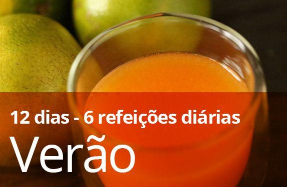 KIT VERÃO - 12 dias (6 refeições diárias)