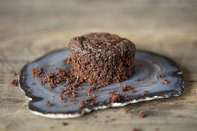 Brownie de abobrinha com cacau lowcarb