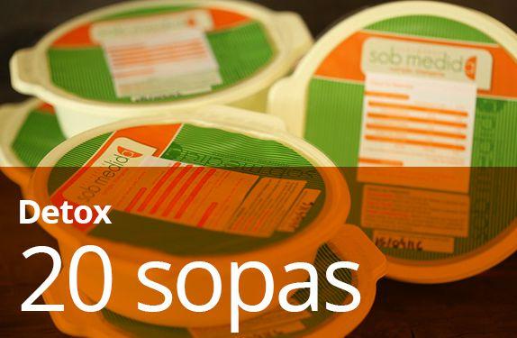 20 Sopas Detox