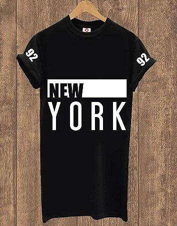 Camiseta Alongada New York