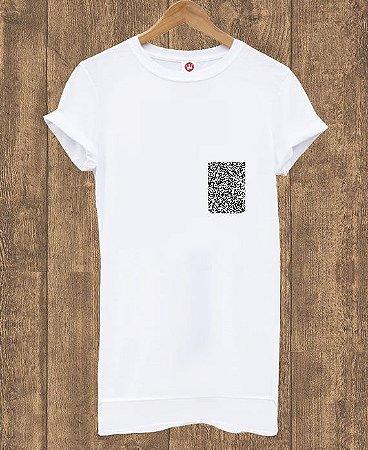 Camiseta Alongada Basic White
