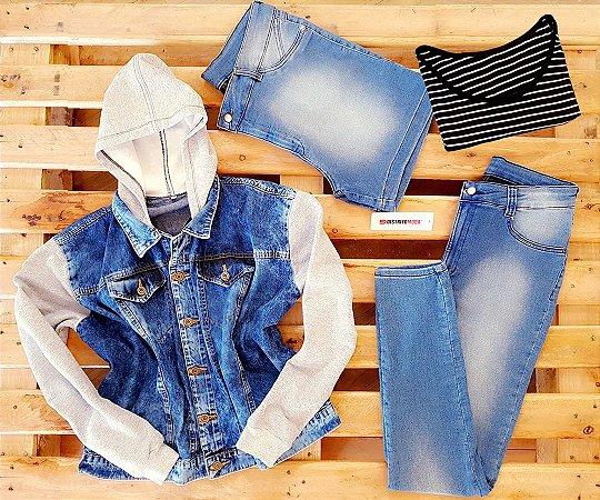 Promoção Kit Fashion Jeans Plus Size (4 ITENS)