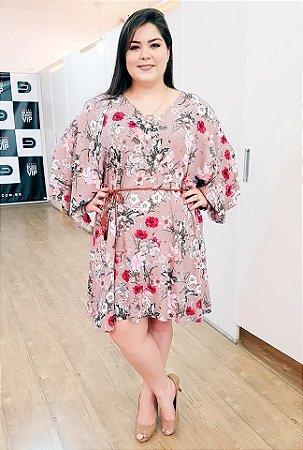Vestido Cloe Rosê Plus Size