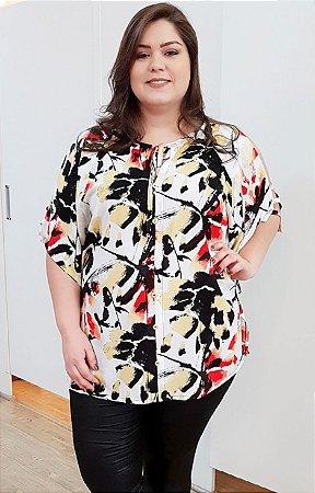 Blusa Doce Mel Plus Size