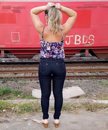 Calça Jeans Skinny TKS