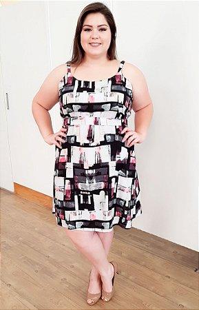 Vestido Gloss Beauty Plus Size