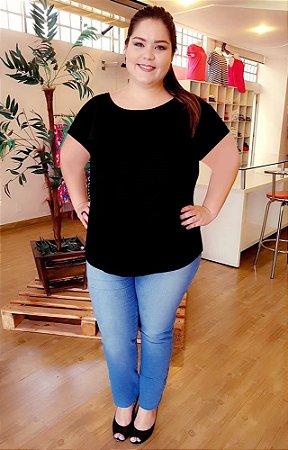Blusa Love Basic Plus Size