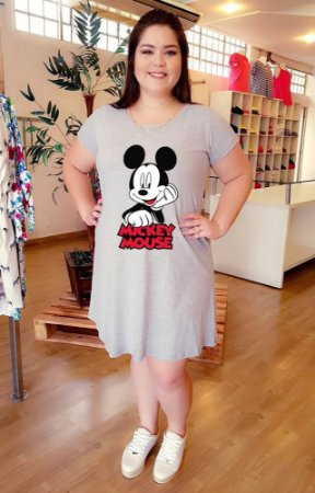 Vestido Mickey Star Plus Size