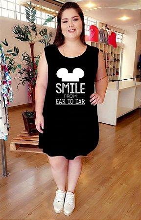 Vestido Mickey Smile Plus Size