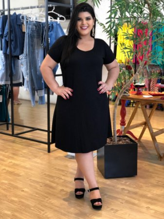 Vestido Love Basic Plus Size