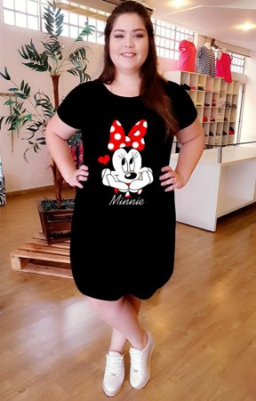 Vestido Minnie Love Plus Size