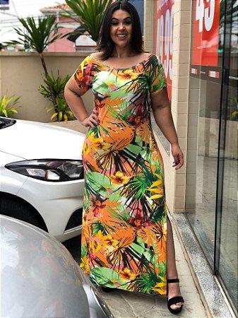 Vestido Longo Casual Elegance