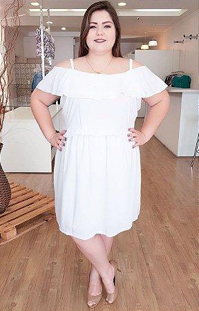 Vestido White Reveillon Plus Size