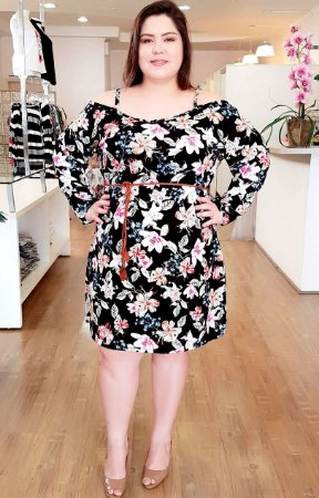 Vestido Gloss Paris Plus Size