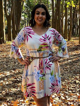 Vestido Cloe Havaí Plus Size