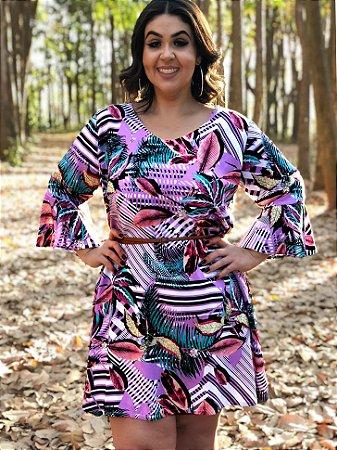 Vestido Cloe Manhatan Plus Size