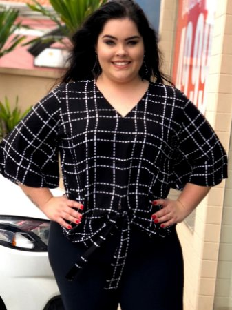 Blusa Black Portland Plus Size
