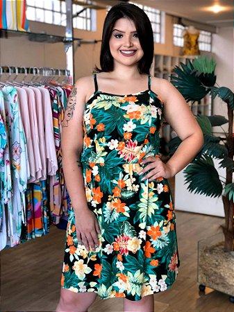Vestido Floral Dreams Plus Size
