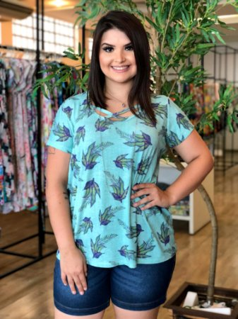 Blusa Pool Califórnia Plus Size