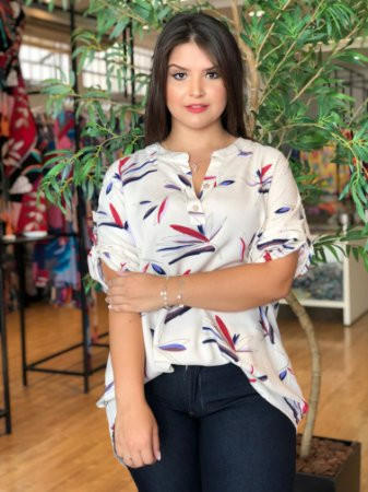 Camisa Harvest Plus Size