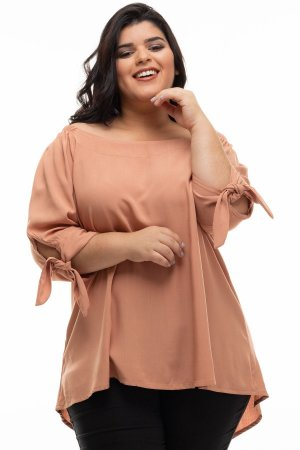 Blusa Clear Plus Size