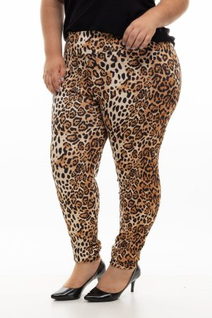 Calça Once Animal Print Plus Size