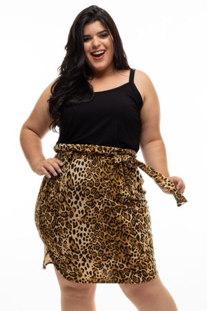 Saia Animal Print Texas Plus Size
