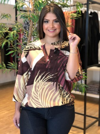 Camisa Harvest Napoli Plus Size