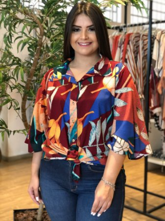 Camisa Megan Plus Size