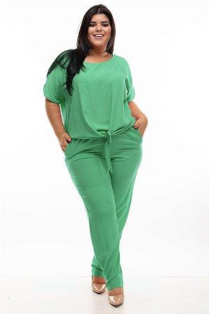 Conjunto Elegance Green Plus SIze