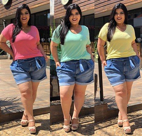 Kit Com 3 T-Shirts Coloridinhas (Economize R$ 30,00)
