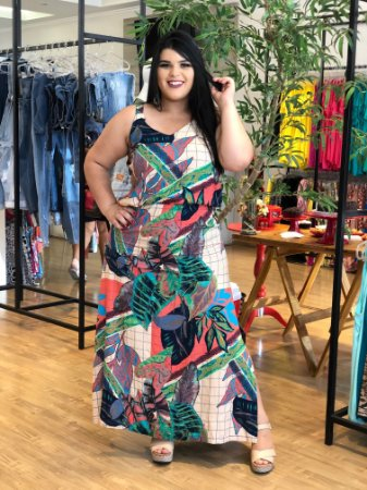 Vestido Long Vex Plus Size