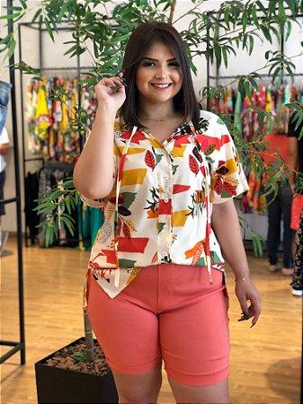 Camisa Floral Classic