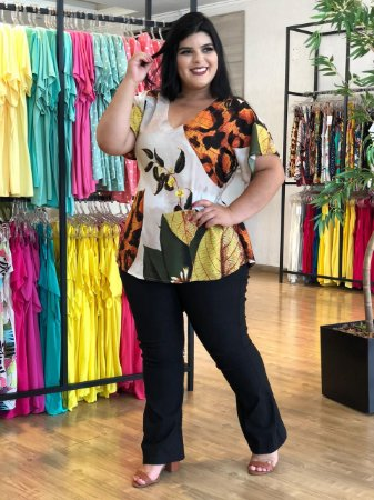 Blusa Cat Love Plus Size